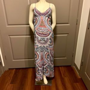 """WORN ONCE! Billabong """"Places To Be"""" Maxi Dress!"""